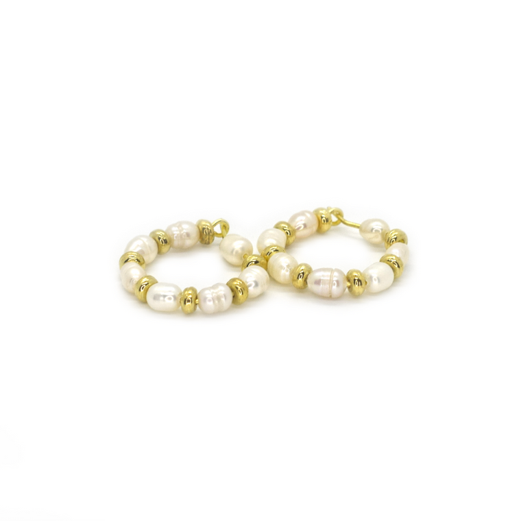 Margaritari Gold Ear Rings