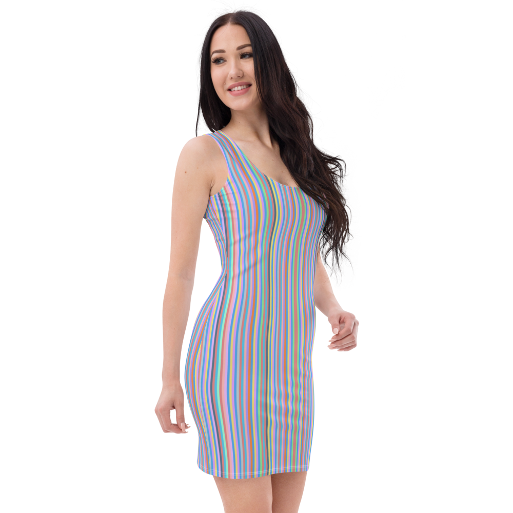 Karamela Striped Dress