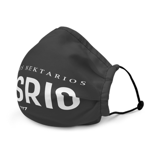 VOSRIO Logo Black Premium face mask