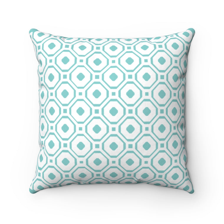 Yiayia's Style Kentima Polyester Square Pillow
