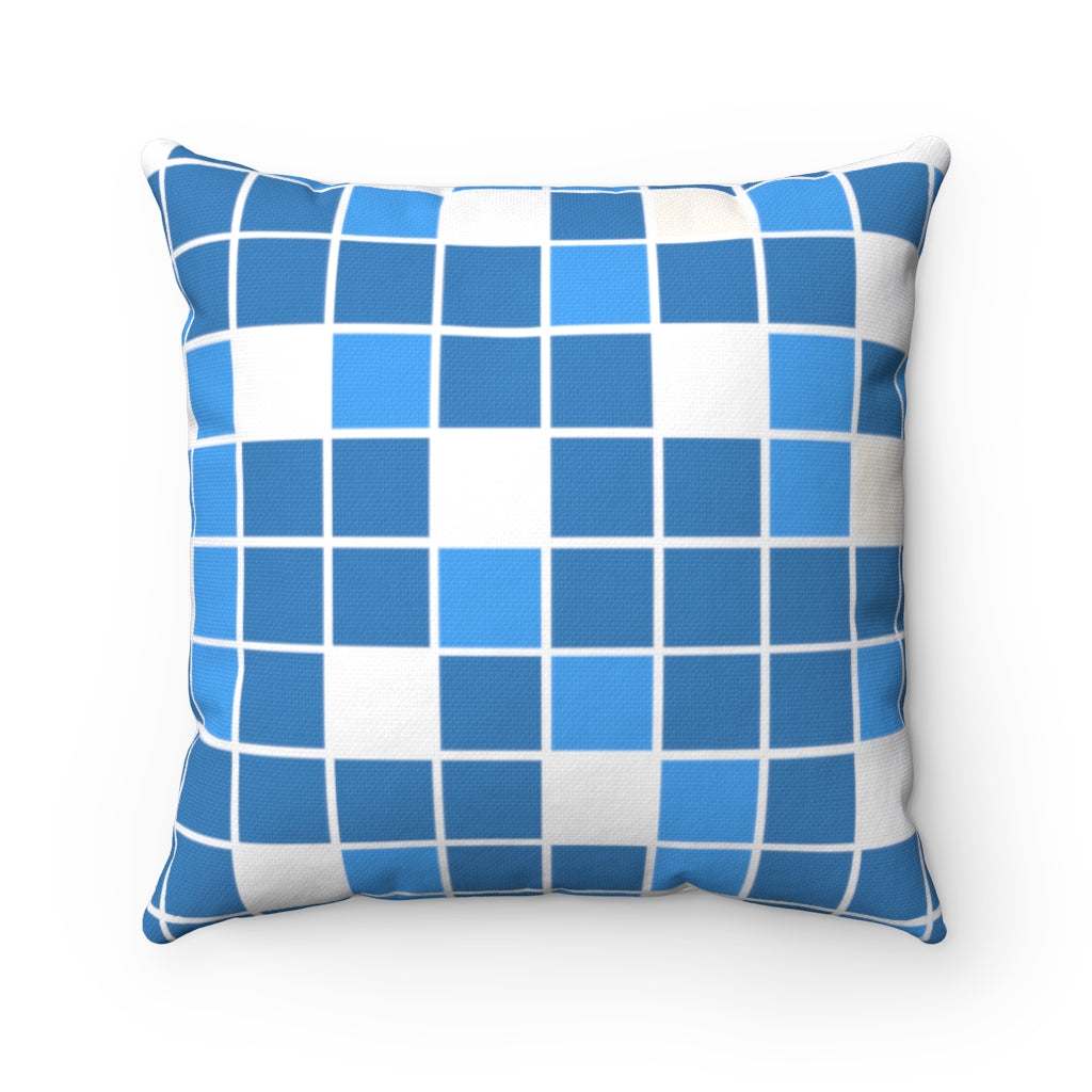 Solving Greece Polyester Square Pillow