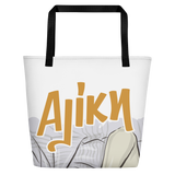 Aliki Grapes Beach Bag