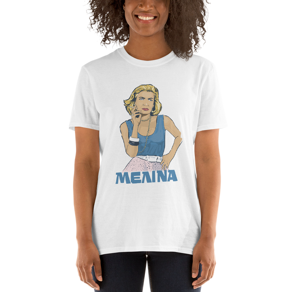 Melina Short-Sleeve Unisex T-Shirt