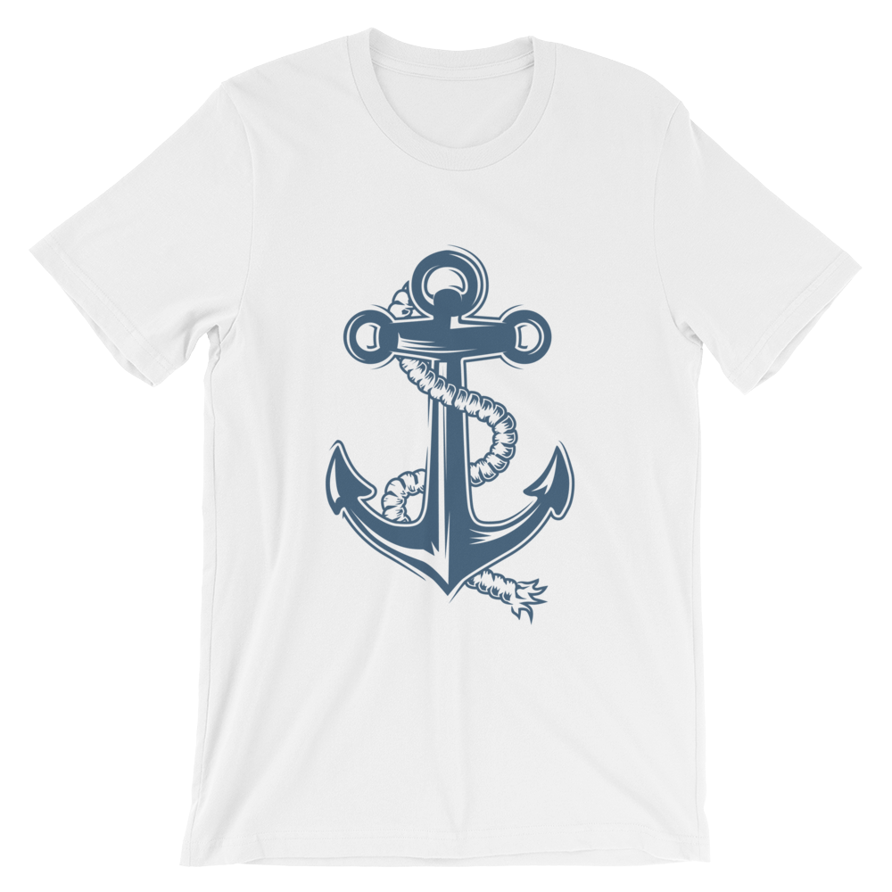 VOSRIO Anchor Unisex Short Sleeve T-shirt