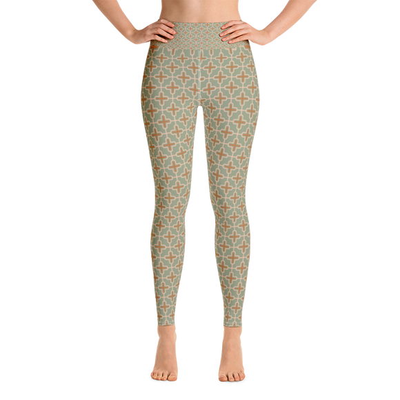 Byzantine Green Leggings