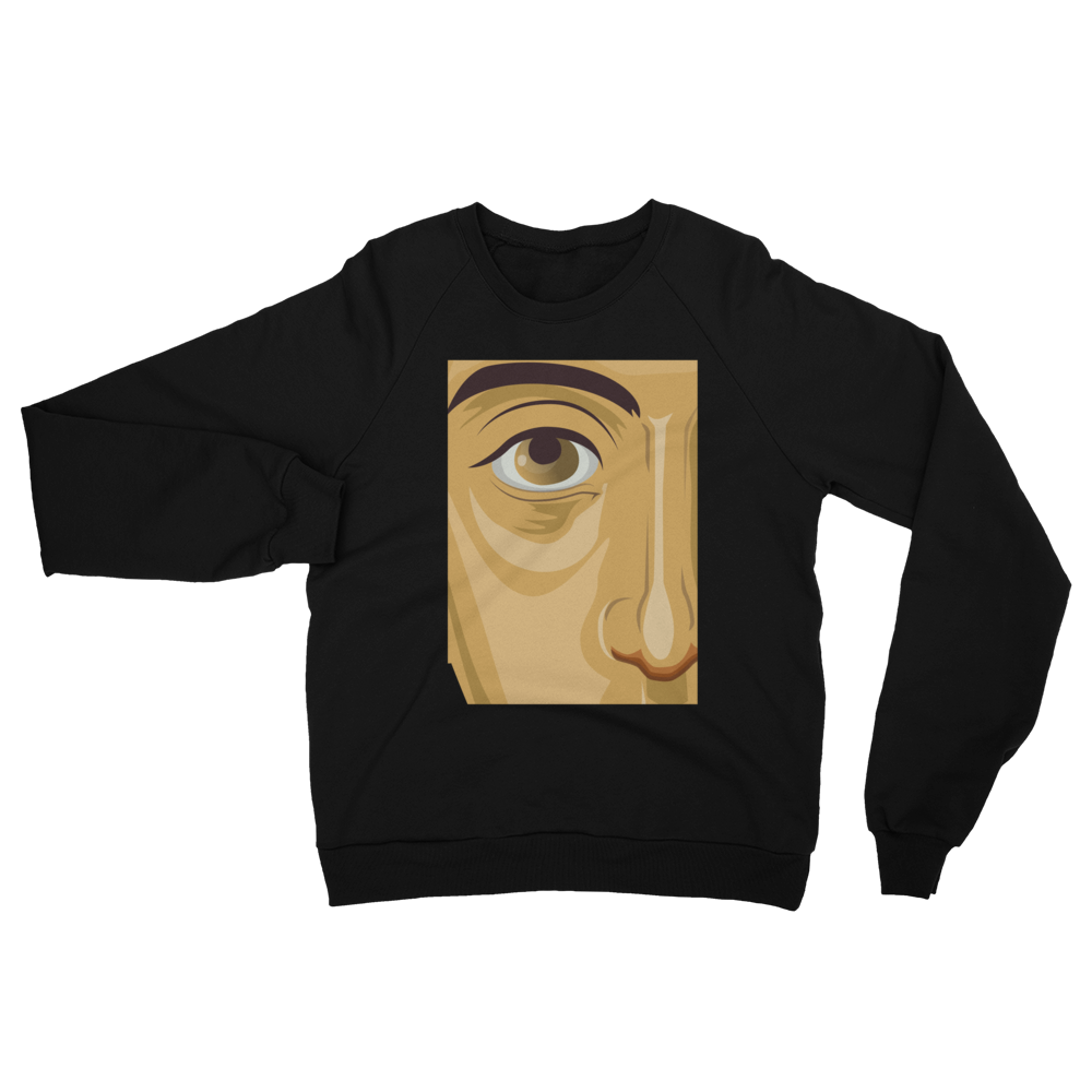 See no Evil Unisex California Fleece Raglan Sweatshirt
