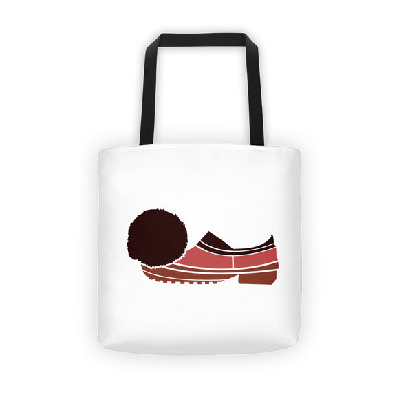 If the Shoe Fits White Tote bag