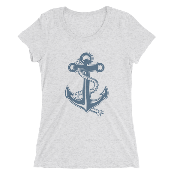VOSRIO Anchor Ladies' Short Sleeve T-shirt