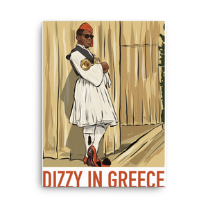 Dizzy In Greece Canvas