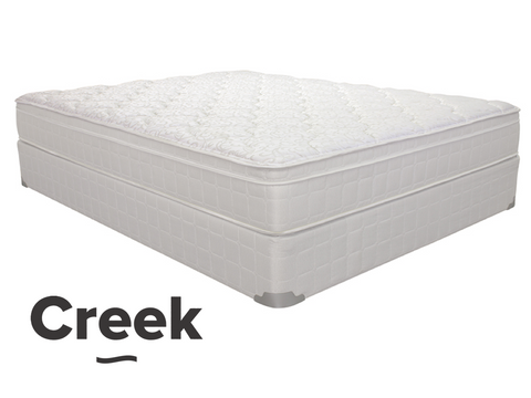 Jacobs Creek Euro Top-Mattress-Creek by New Braunfels Mattress Co.-New Braunfels Mattress Company