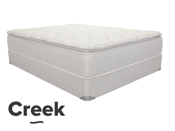York Creek Pillow Top-Mattress-Creek by New Braunfels Mattress Co.-New Braunfels Mattress Company