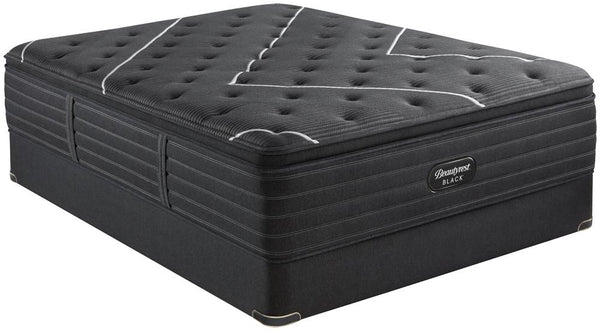Beautyrest Black C-Class Plush Pillow Top-Mattress-Simmons-New Braunfels Mattress Company