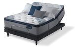 Serta iComfort Hybrid Blue Fusion 1000 Luxury Firm Pillow Top Closeout-Mattress-Serta-New Braunfels Mattress Company