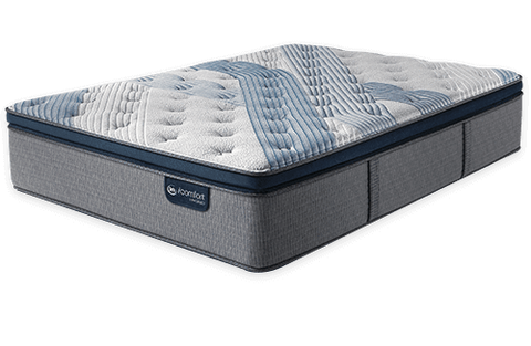 Serta iComfort Hybrid Blue Fusion 4000 Plush Pillow Top-Mattress-Serta-New Braunfels Mattress Company