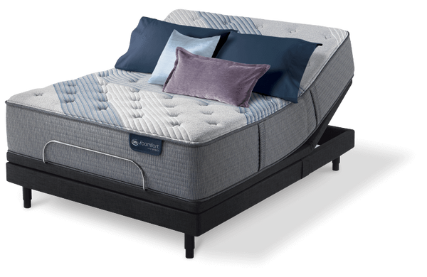 Serta iComfort Hybrid Blue Fusion 3000 Plush-Mattress-Serta-New Braunfels Mattress Company