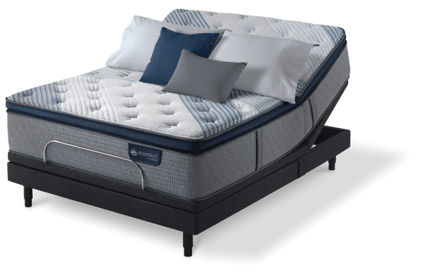Serta iComfort Hybrid Blue Fusion 5000 Cushion Firm Pillow Top-Mattress-Serta-New Braunfels Mattress Company