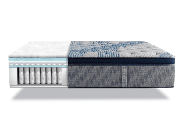 Serta iComfort Hybrid Blue Fusion 5000 Cushion Firm Pillow Top Closeout-Mattress-Serta-New Braunfels Mattress Company