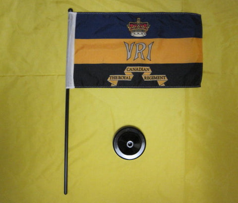 Regimental desk flag