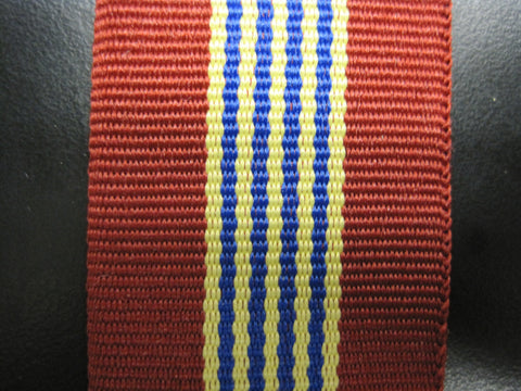 Sovereign Medal Ribbon