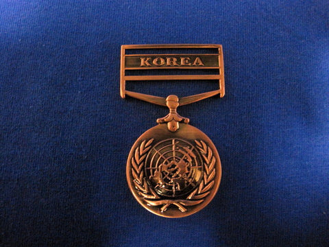UNITED NATIONS SERVICE MEDAL(KOREA)