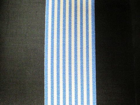 RIBBON FOR UNITED NATIONS SERVICE MEDAL(KOREA)