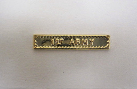 BAR 1ST ARMY