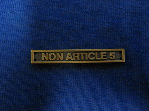 Bar Non Article 5