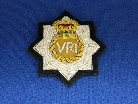 RCR Officer Cap Badge