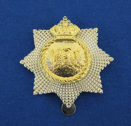 RCR NCM Cap Badge METAL
