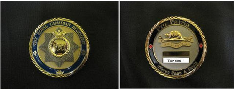 REGIMENTAL COIN - ENGRAVABLE