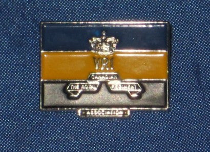 RCR Association Banner Lapel Pin