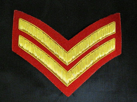 Mess Dress Embroidered Rank ( Cpl to Senior Appointment CWO )