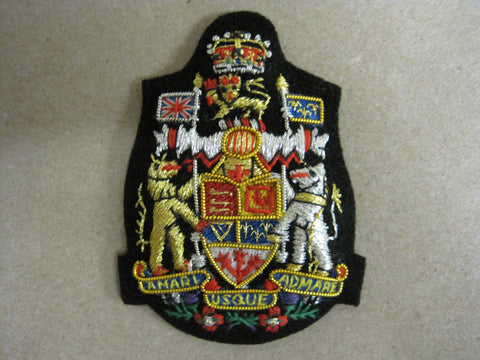 Cap Badge, Cloth