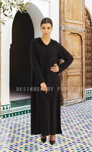 Djellaba - Akila basic Black