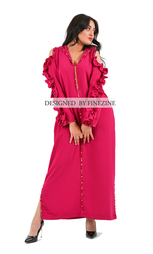 Froufou - Djellaba fashion - Fuchsia