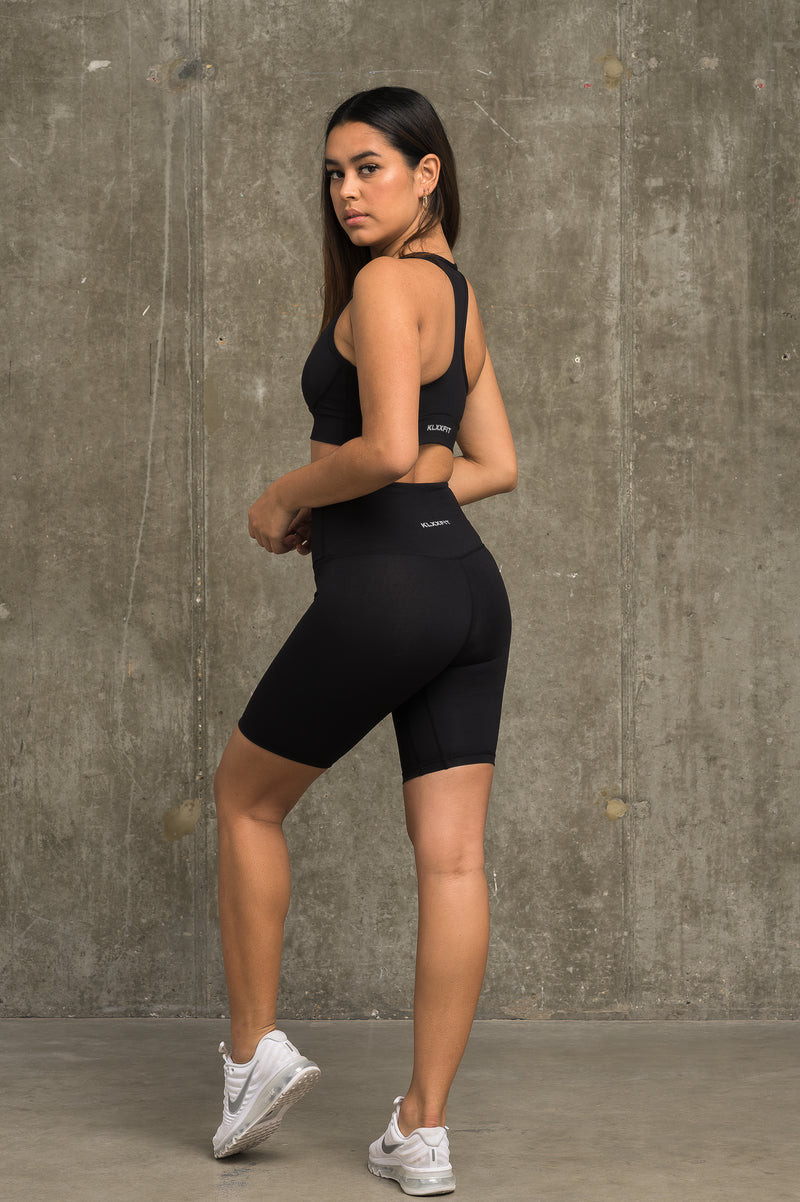 Luxe Cycling Shorts - Jet Black