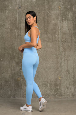 Luxe Leggings - Light Blue
