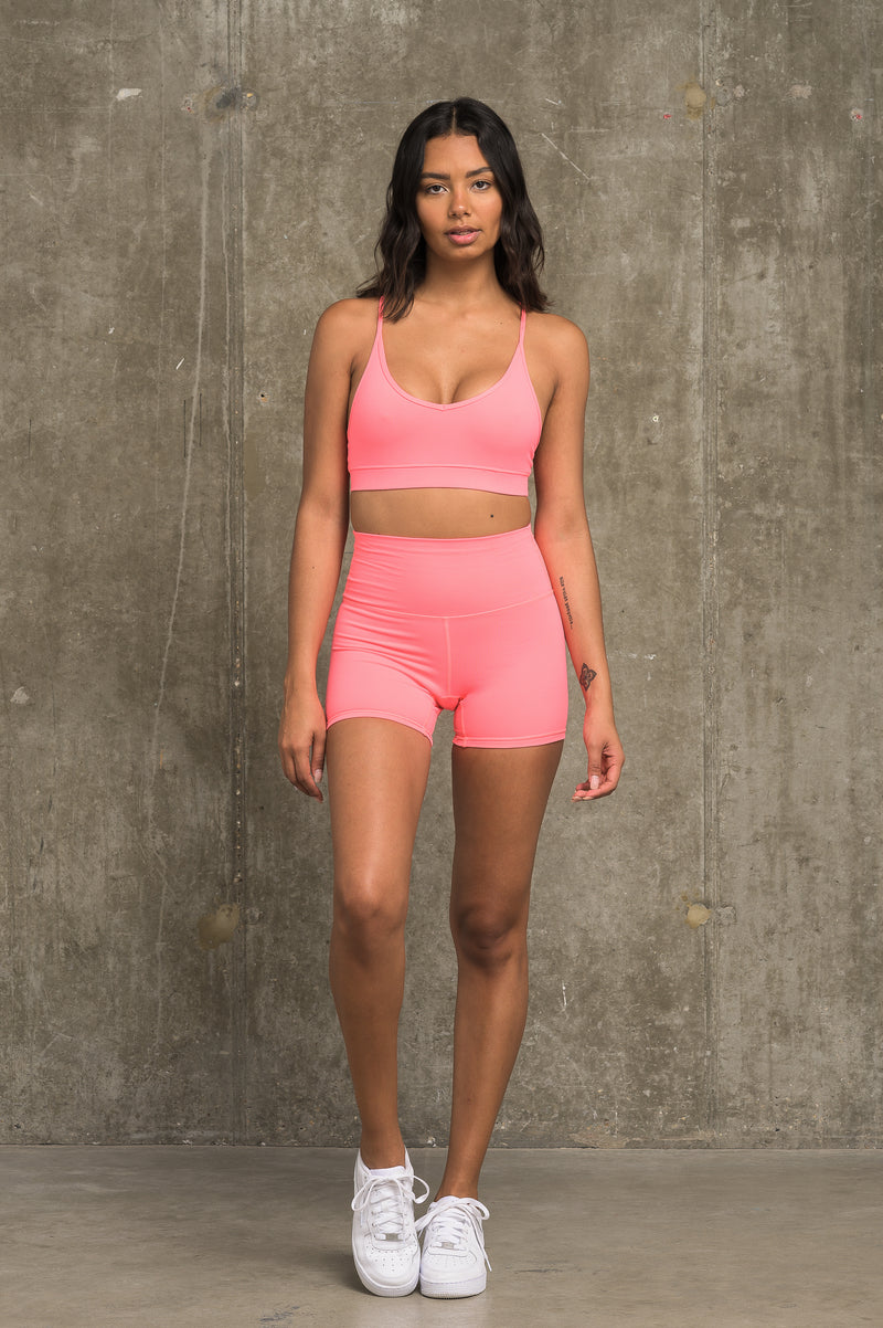 Luxe Classic Bra - Sherbet Pink