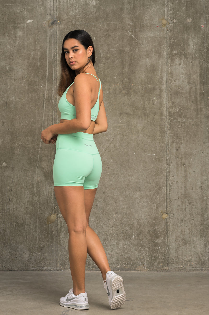 Luxe Classic Shorts - Mint