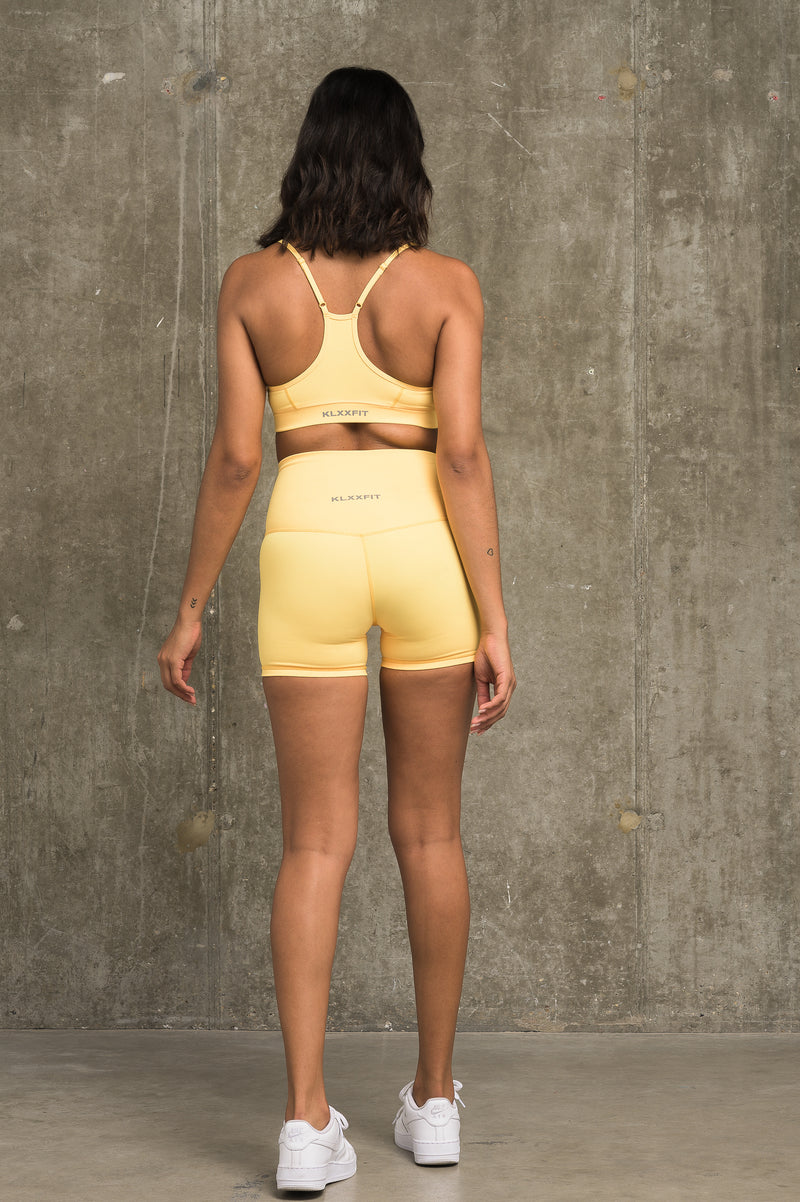 Luxe Classic Shorts - Yellow