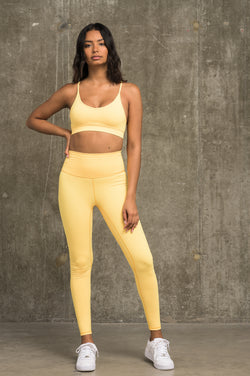 Luxe Leggings - Yellow