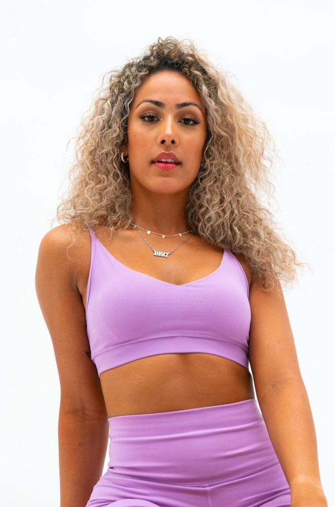 Load image into Gallery viewer, Luxe Studio Bra - Grape