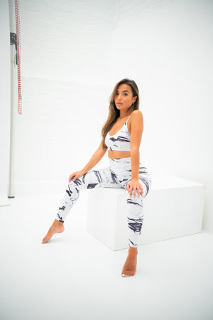 Studio Leggings - Marble