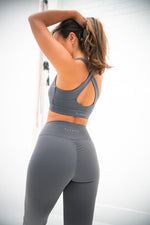 Luxe Scrunch Leggings - Steel Grey