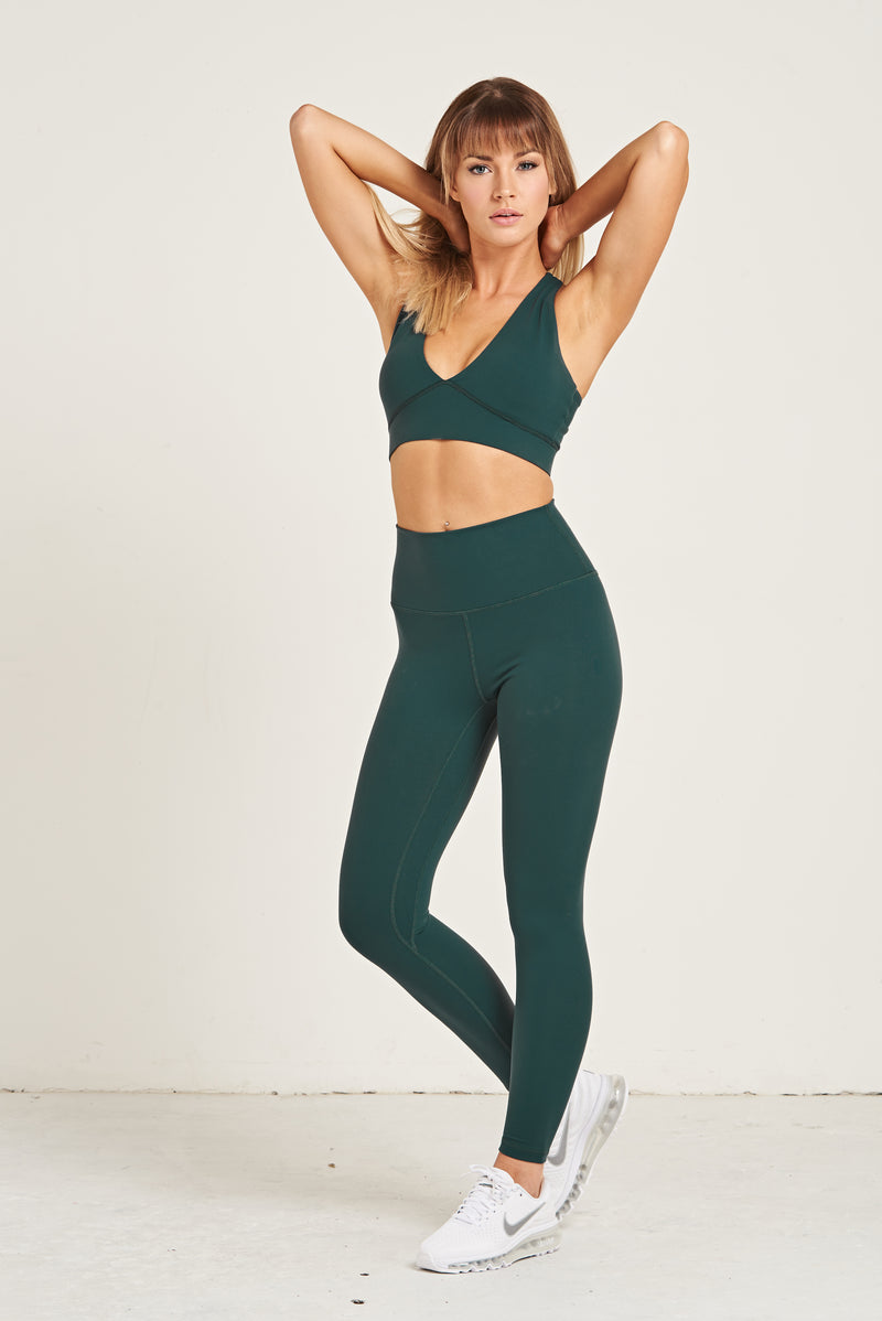 Luxe Leggings - Hunter Green