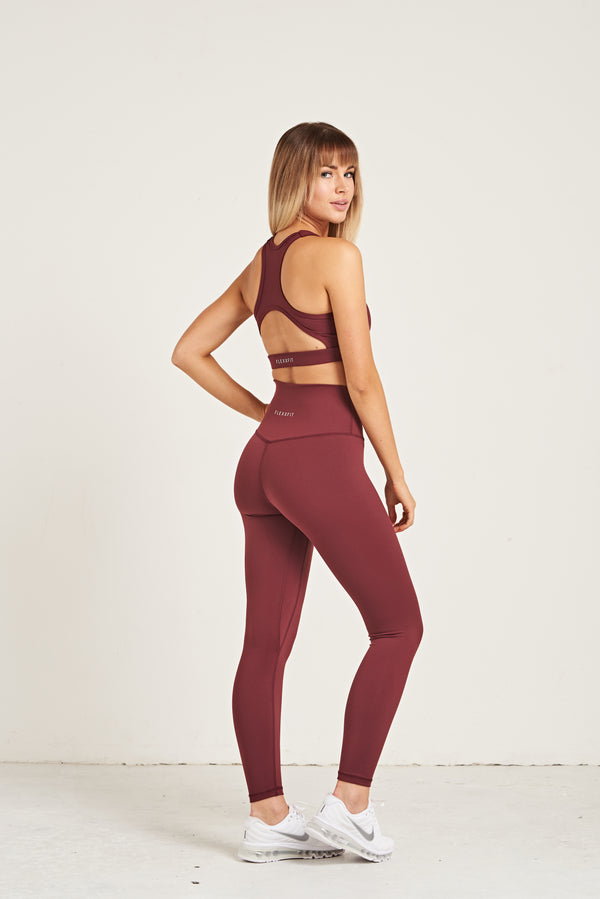 Luxe Leggings - Burgundy