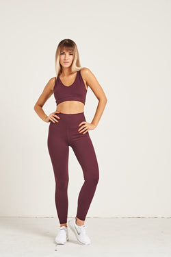 4f9c2eb17d Luxe Leggings - Dark Purple – FLEXXFIT
