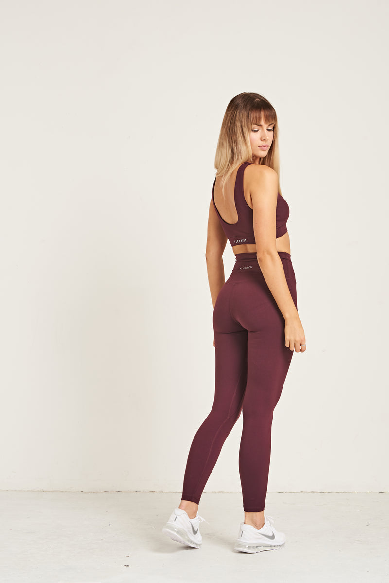 Luxe Leggings - Dark Purple