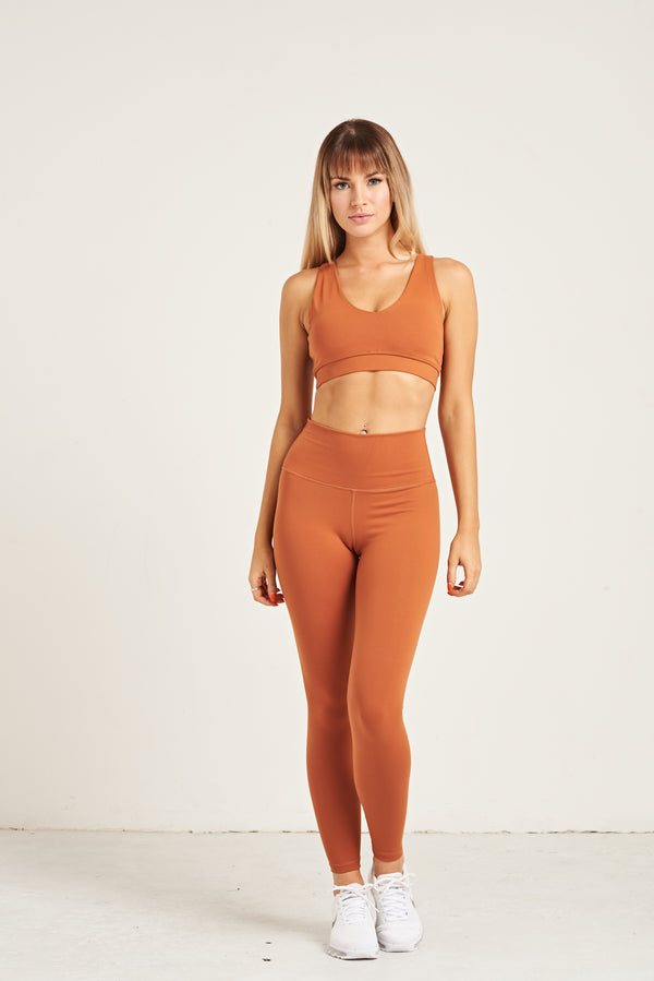 Luxe Leggings - Pumpkin Spice