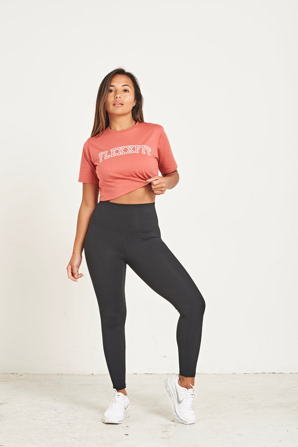 Crop T-Shirt - Rose